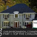 Our Environmental Commitment, Part 1: Top Five Challenges