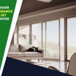 Patio Door Maintenance Checklist for Winter